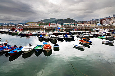 Port in Castro-Urdiales Santander Cantabria Spain