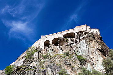 France, Corsica, Haute-Corse Department, Central Mountains Region, Corte, Citadel