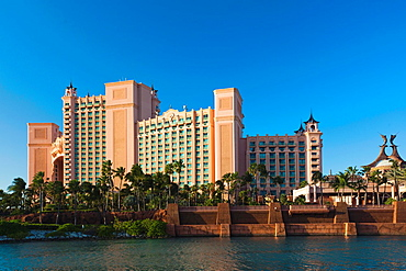 Bahamas, New Providence Island, Nassau, Paradise Island, Atlantis Hotel and Casino