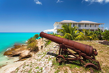 Antigua and Barbuda, Antigua, St Johns, Fort James, old fort dating back to 1706