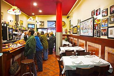 La Vina de Henao Restaurant. Bilbao. Bilbo. Bizkaia. Vizcaya. Pais Vasco. Euskadi. Basque Country, Spain