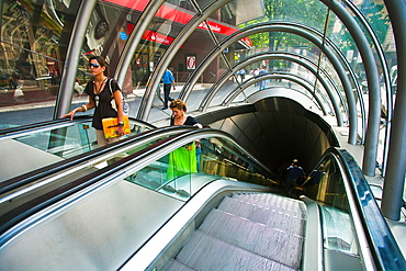 Underground Bilbao. Moyua Station. Norman Foster Architect. Bilbao. Bilbo. Bizkaia. Vizcaya. Pais Vasco. Euskadi. Basque Country, Spain