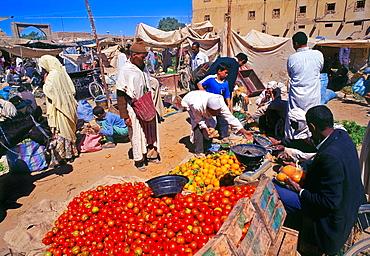Rissani Weekly Markett Meknes-Tafilalet Region South of Morocco