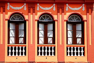 Homes, Plaza San Cristobal, San Cristobal de la Laguna, Tenerife, Canary islands, Spain