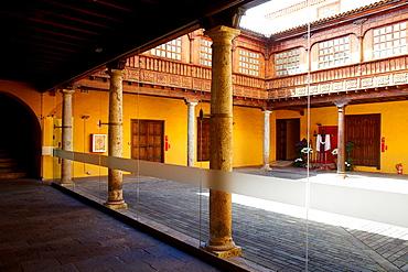 MHAT, Museo Historia y Antropologia de Tenerife, Casa Lercaro, San Cristobal de la Laguna, Tenerife, Canary islands, Spain