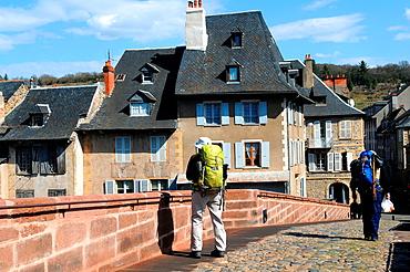Espalion, Aveyron, Midi-Pyrenees region, southern France