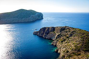 Spainn, Balearic islands, Cabrera, port