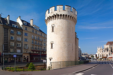 France, Normandy Region, Calvados Department, Caen, Tour Leroy tower