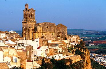 Church of San Pedro in Arcos de la Frontera, Cadiz province, Andalusia, Spain