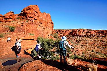 Kings Canyon Watarrka National Park, Central Australia
