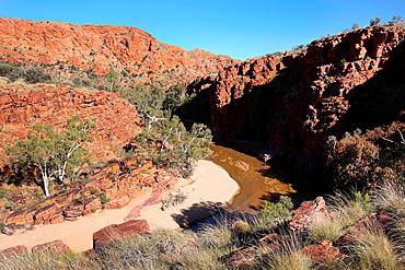 Trephina Gorge, East McDonnel Ranges, Central Australia