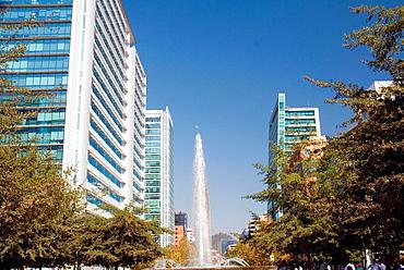 Isidora Goyenechea Av Buildings in Santiago