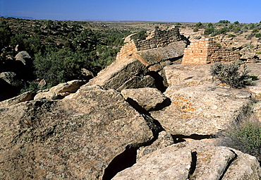 Tilted Tower, Holly Unit-Hovenweep National Monument, Colorado