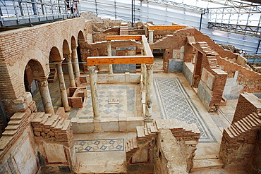 Interior of the Terrace Houses Ephesus Archaeological Sitee, Izmir province, Turkey