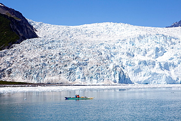 Holgate Glacier in Aialik bay, Kenai Fjords National Park, Alaska, USA