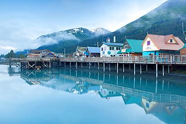 Seward, Kenai Peninsula, Alaska, USA