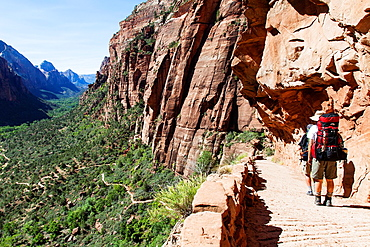 The Trail to Angels Landing, Zion NP, Utah