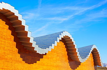 Ysios winery by architect Santiago Calatrava Laguardia Rioja alavesa wine route Alava Basque country Spain