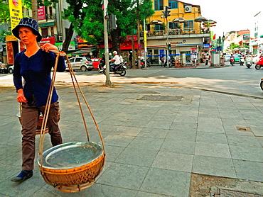 street vendor, French Quarter, Hanoi, Vietnam