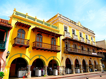 Cartagena of the Indies, Bolivar Department, Colombia.