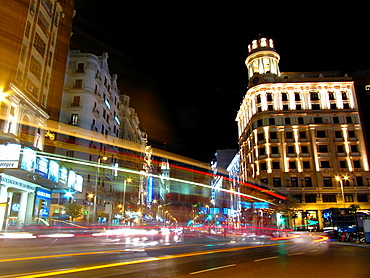 Callao Square, Madrid, Spain.
