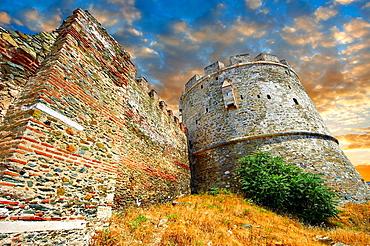 Byzantine Walls of Thessaloniki, Greece A UNESCO World Heritage Site