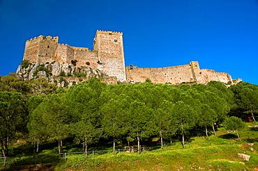 The Castle of the Moon -13th century, Alburquerque, Badajoz-province, Spain