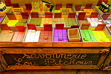Savon de Marseille, choice of famous soaps from Marseille, France