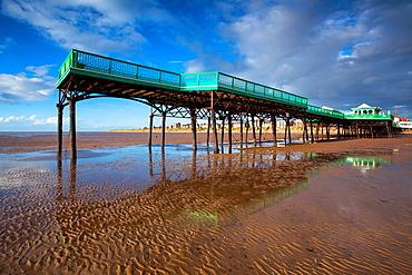 England, Lancashire, Lytham St Annes Lytham St Annes pier located near Blackpool, on the Irish Sea Coast