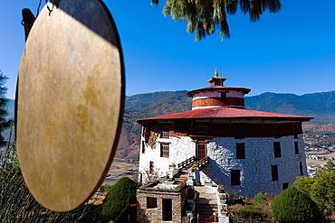 Ta Dzong, National Museum, Paro, Bhutan, Asia.