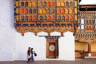 Ta Dzong, Paro, Bhutan, Asia.