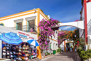 Spain , Canary Islands , Gran Canaria Island, Puerto de Mogan City,