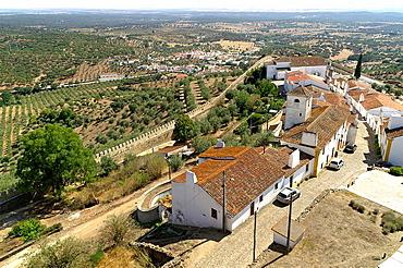 Evoramonte evora Monte Portugal Small town Evoramonte