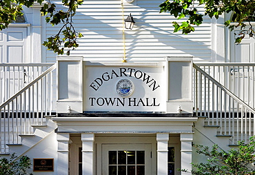 Edgartown Town Hall, Martha's Vineyard, Massachusetts, USA