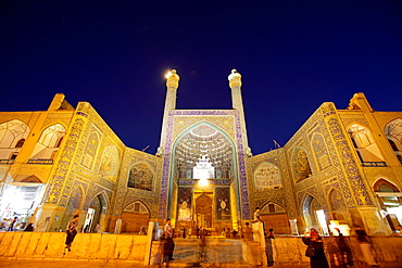 Imam mosque also called Shah mosque in Esfahan, Iran