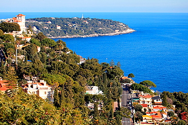 The Cap Martin, Alpes-Maritimes, French Rivera, Cote d'Azur, 06, PACA, France.