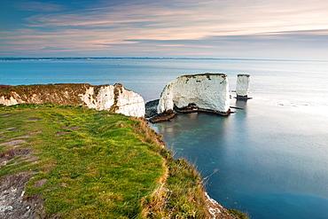 Old Harry Rocks, Studland, Dorset, England, UK, Europe.