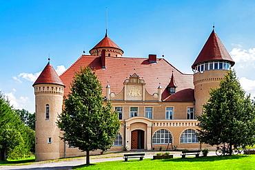 Mansion Stolpe Castle, Usedom Island, County Vorpommern-Greifswald, Mecklenburg-Western Pomerania, Germany, Europe