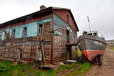 Dalniye Zelentsy, Arctic regions, Russia, Barents Sea