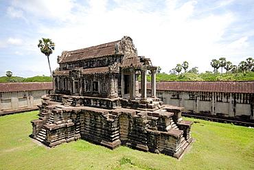 central temple at Angkor Wat, Cambodia