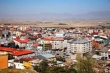 town of erzurum, eastern anatolia, turkey, asia