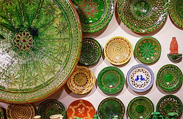 Shop of Alfareria Pablo & Paco Tito,pottery,Calle Valencia 22,Ubeda, Andalusia, Spain