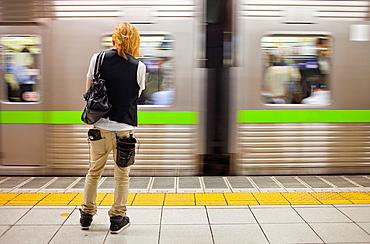 Shinjuku Railway station Keio Line  Shinjuku, Tokyo, Japan