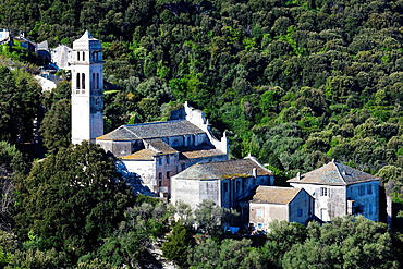 France, Corsica, Haute-Corse Department, Le Cap Corse, Pino, Eglise Ste-Marie church