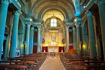 Chiesa di Giovanni Batista church interior Modena city Emilia-Romagna region central Italy Europe
