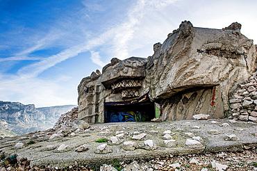 Europe, France, Bouches-du-Rhone 13, Marseille, European Capital of Culture 2013, 9th district, creek, Calanques National Park since 18, 04, 2012 Blaukhaus