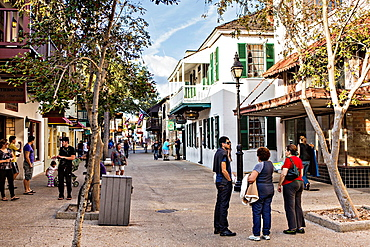 George Street in the historic district in St Augustine, Florida St Augustine is the oldest city in America