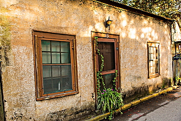 Old homes in the historic district in St Augustine, Florida St Augustine is the oldest city in America