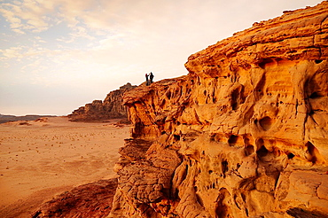 Panoramic view of Wadi Rum desert, Jordan, Middle East.