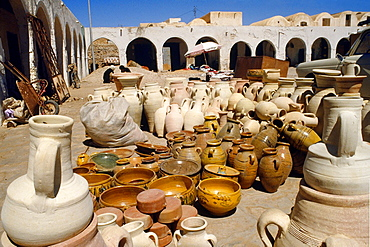 Market Douz Southern Tunisia.
